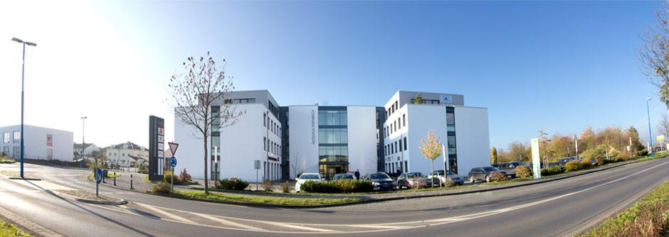 Blick auf das Ärztehaus Rheinbach - Foto: Jörg Frerichs
